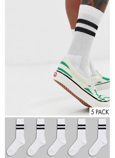 Oksit Çorap Beyaz